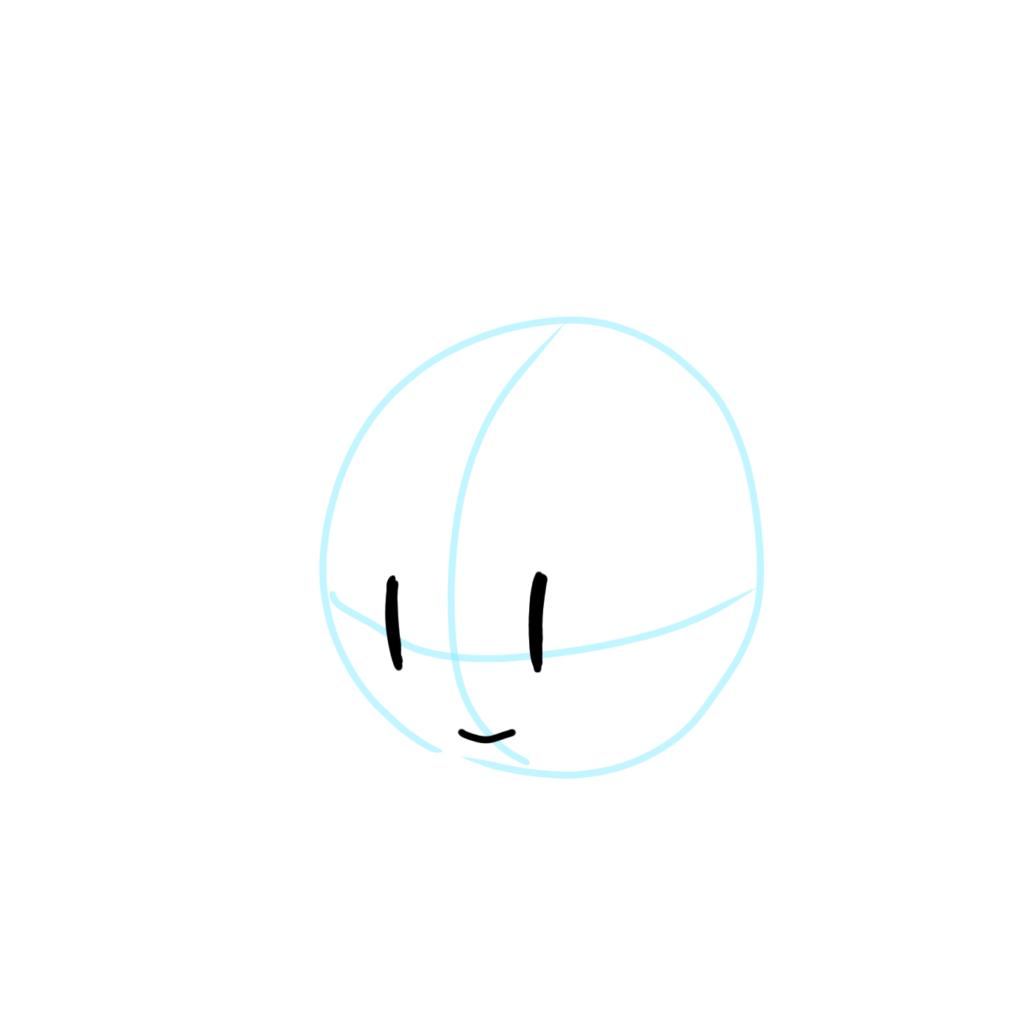 球面を意識してパーツを配置