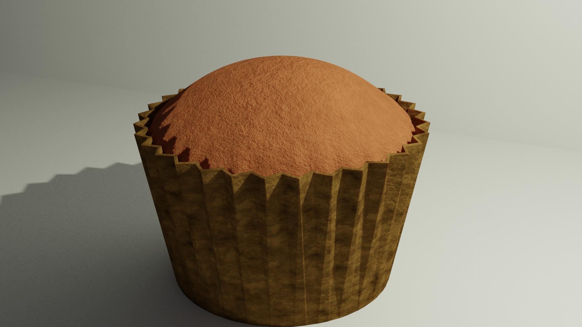 カップケーキが完成した