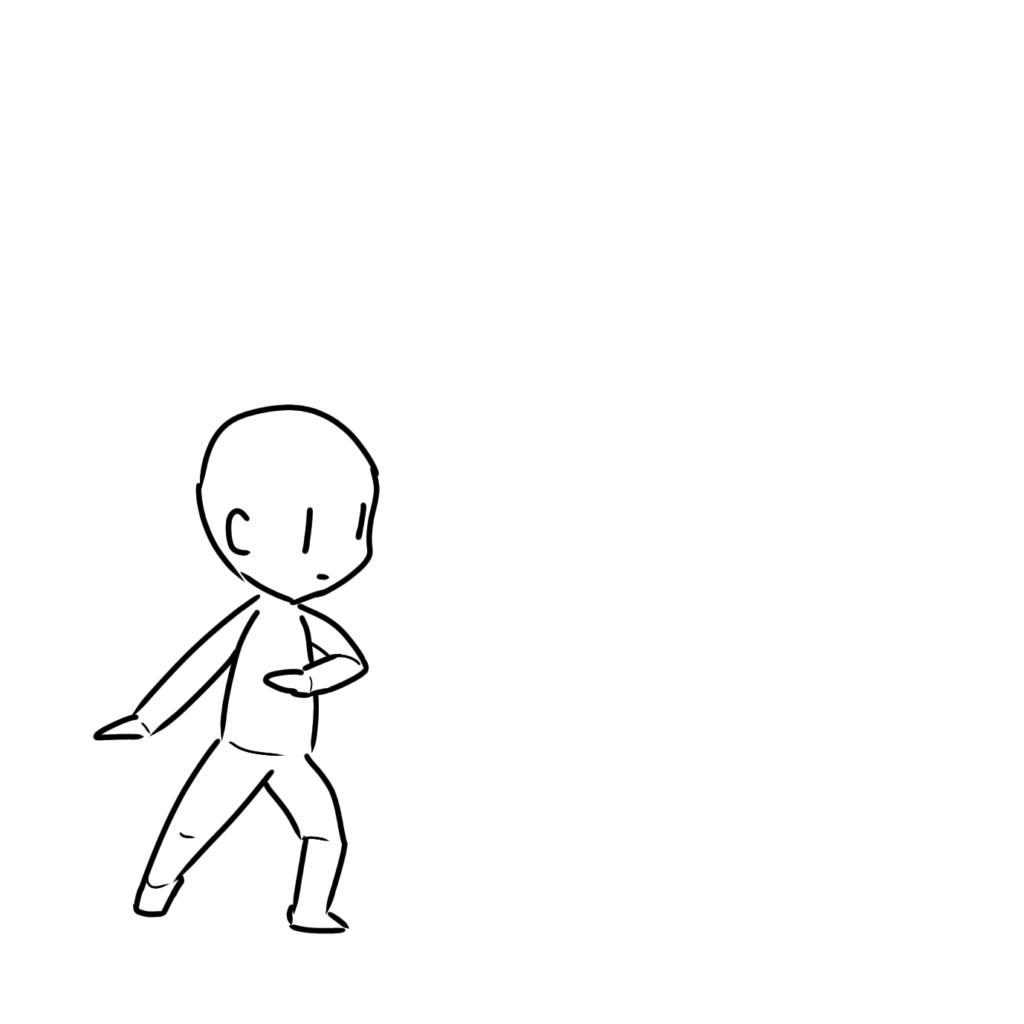 曲げた腕もだんだん描けるようになってきた