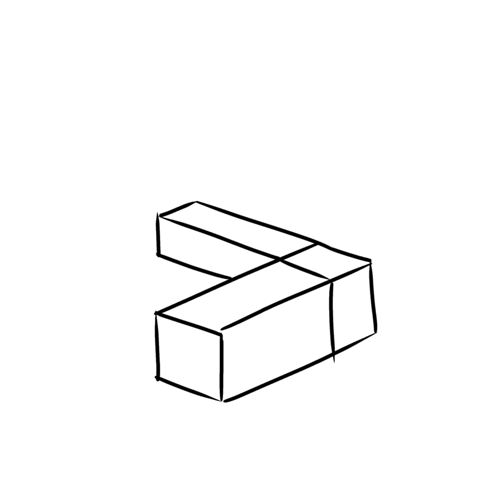 箱の組み合わせならわかりやすい