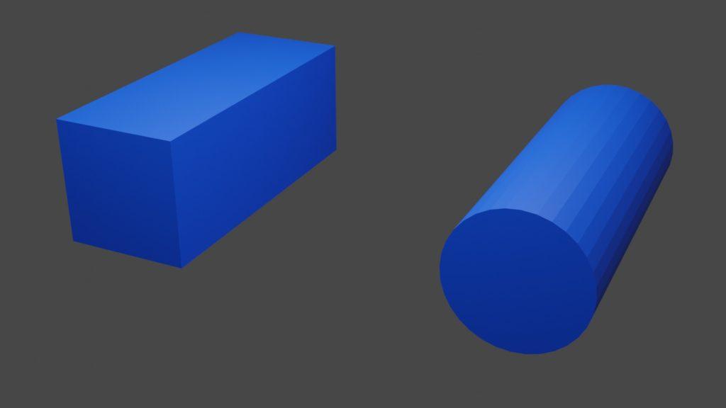 直方体と円柱の違い